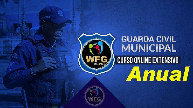 CURSO ONLINE GUARDA MUNICIPAL ANUAL - Estude para guardas municipais em um só acesso!