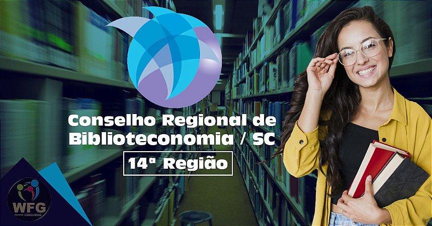 CURSO ONLINE - CONSELHO REGIONAL DE BIBLIOTECONOMIA /SC - AUXILIAR ADMINISTRATIVO - EDITAL PUBLICADO