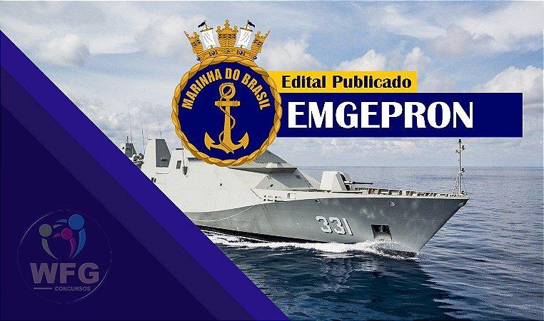CONCURSO EMGEPRON - CURSO ONLINE - ASSISTENTE ADMINISTRATIVO (Liberado até a prova)