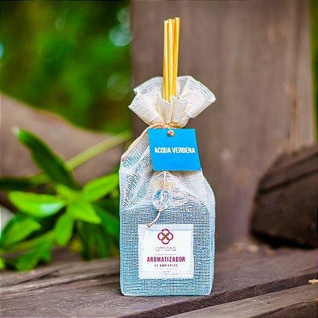 Aromatizador de Ambientes Acqua Verbena 350 ml - Difusor Varetas