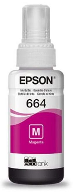 Refil de Tinta 70ml Para Impressora Epson L110 / L200 / 210 / L350 / L355 / L555 - Margenta