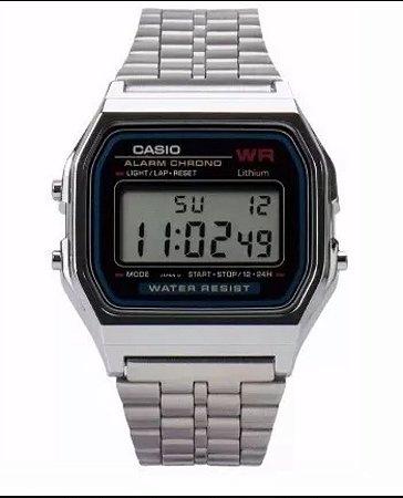 e36323378f2 Relógio Cásio retrô prata - Feitosa´s