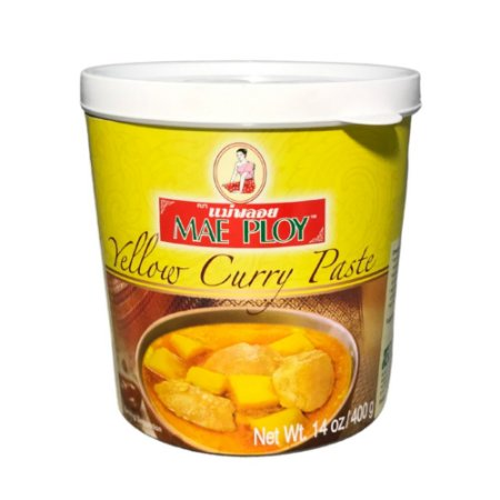 Pasta de Curry Amarela 400g - Mae Ploy