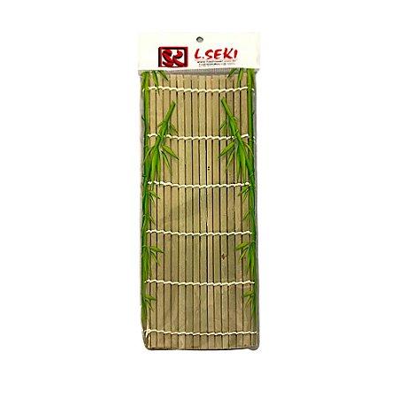 Esteira Para Sushi Sudare Quadrado 27x27cm - L-seki