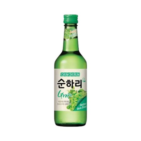 Soju Coreano Uva 360ml - Chum Churum Lotte