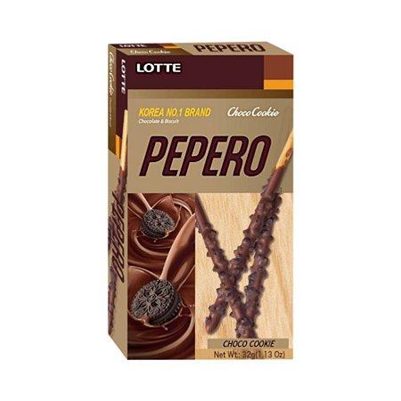Pepero Biscoito Palito Choco Cookie 32g - Lotte