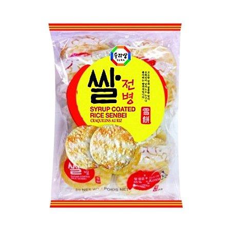 Biscoito de Arroz Doce Sembei (Senbei) 84g - Surasang