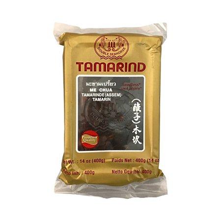 Pasta de Tamarindo Tailandesa Premium 400g - Double Seahorse