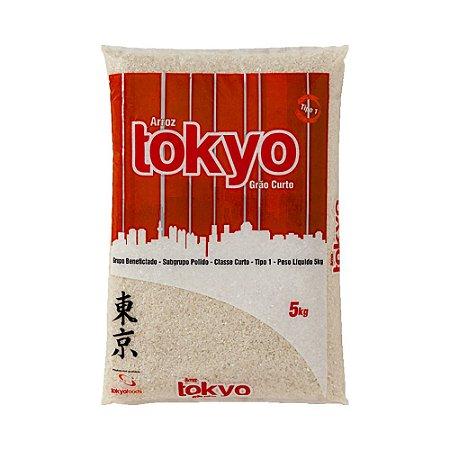 Arroz Grão Curto 5Kg - Tokyo