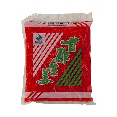 Gengibre em Conserva Palito Vermelho 1kg - Kawa Gari
