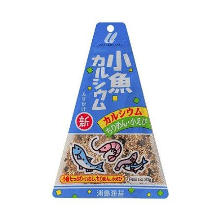 Furikake Triângulo Kosakana Calcium (Camarão e Peixe) 30g - Urashima