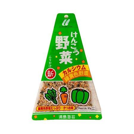 Furikake Triângulo Kenko Yasai (verduras) 30g - Urashima