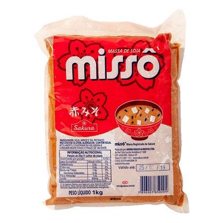 Misso Aka (Massa de Soja) 1kg - Sakura