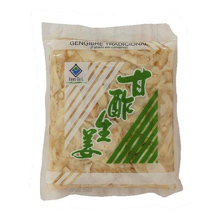 Gengibre em Conserva 1kg ( Caixa 10 un. ) - Kawa Gari