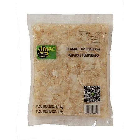 Gengibre em Conserva 1kg ( Caixa 10 un. ) - Mac