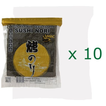 Kit 10un. Yakinori 50fls 140g - Mac Gold