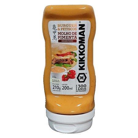 Molho de Pimenta Habanero 200ml - Kikkoman