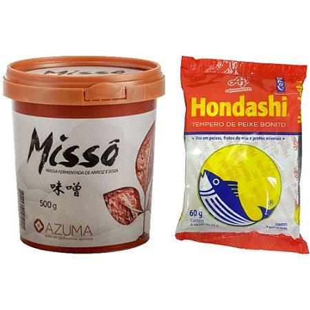 Kit Missoshiru com Missô e Hondashi