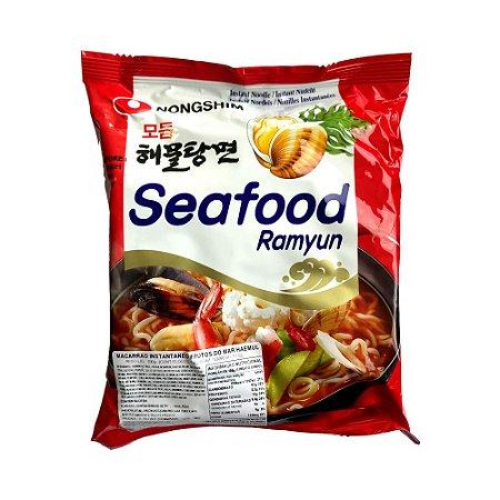 Macarrão Ramyun Frutos do Mar 100g - Nongshim