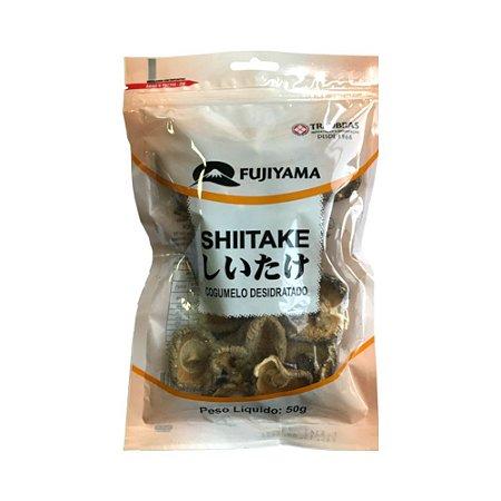 Cogumelo Shiitake Desidratado 100g - Fujiyama (Validade do lote atual: 15/09/2021)