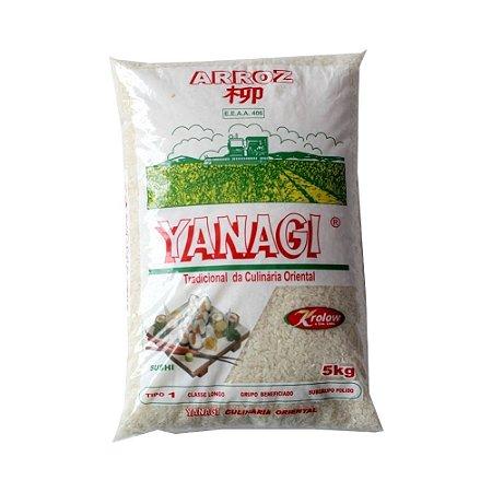 Arroz Grão Longo 5Kg - Yanagi