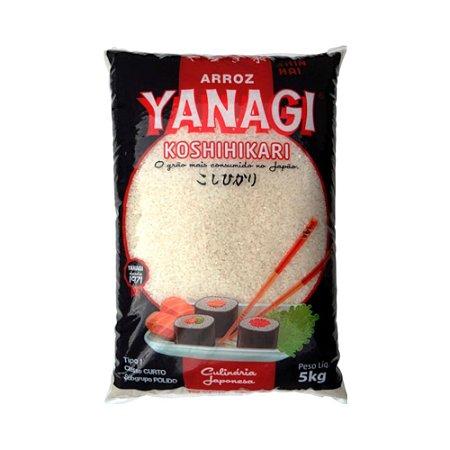 Arroz Grão Curto Koshihikari 5Kg - Yanagi