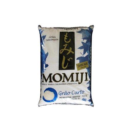 Arroz Grão Curto 5kg - Momiji Azul