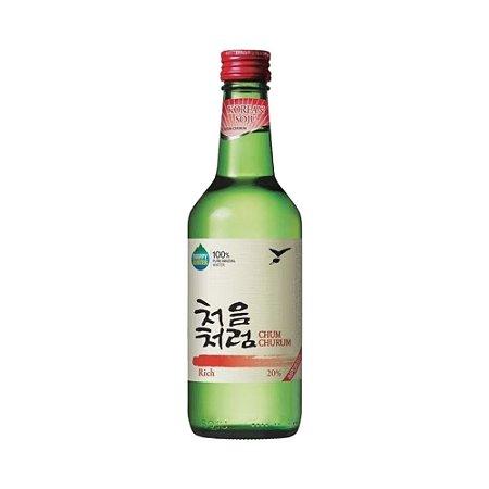 Soju Coreano Rich (Teor 19,9%) 360ml - Chum Churum Lotte