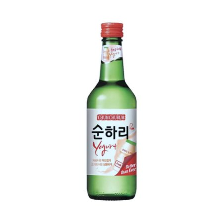 Soju Coreano Yogurt 360ml - Chum Churum Lotte