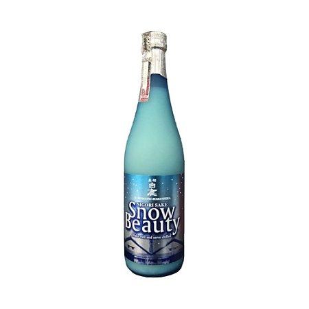Sake Snow Beauty Nigori Seco 720ml - Hakushika