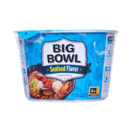 Lamen Instantaneo Frutos do Mar Big Bowl 95g - Samyang