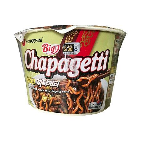 Macarrão Chapaghetti com Molho Chajang Big 114g - Nongshim