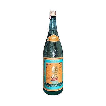 Sake (Saquê) Japonês Junmai Ginjo 1.8L - Kikusui