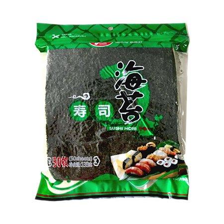 Sushi Nori Yakinori 50fls 140g Importado - Yuhedao