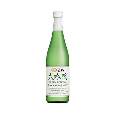 Sake Daiginjo Green Edition 720ml - Hakutsuru