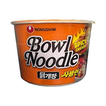 Macarrão Coreano Frango Apimentado Bowl 100g - Nongshim