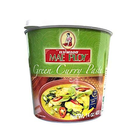 Pasta de Curry Verde 400g - Mae Ploy