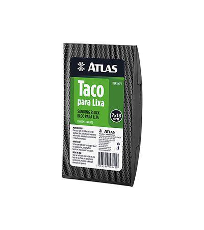 Taco Para Lixa De Borracha