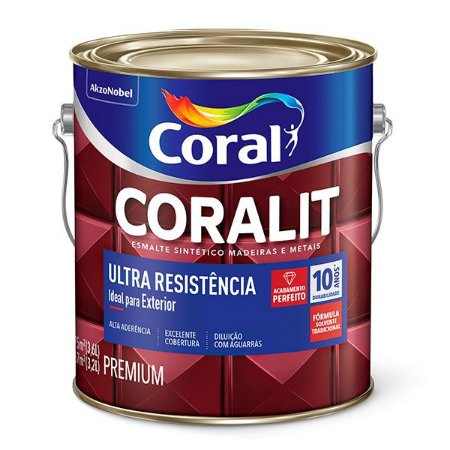Esmalte Sintético Coralit Fosco