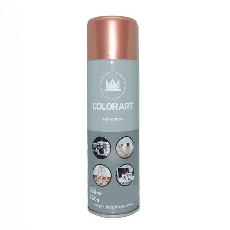 Spray Colorart Ouro Rose