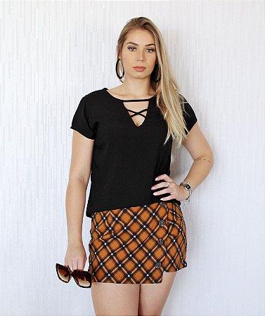 Shorts Saia Xadrez