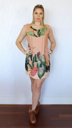 Vestido com Babado Flora