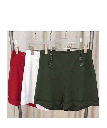 Shorts 3 Botões