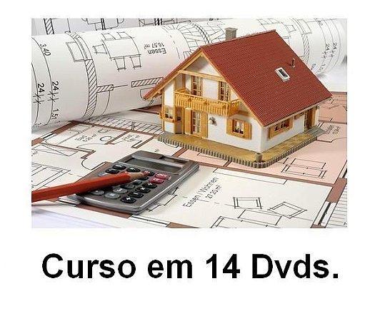 Curso Construir Sem Segredos em 14 DVDs, Frete Grátis, Envio Imediato.