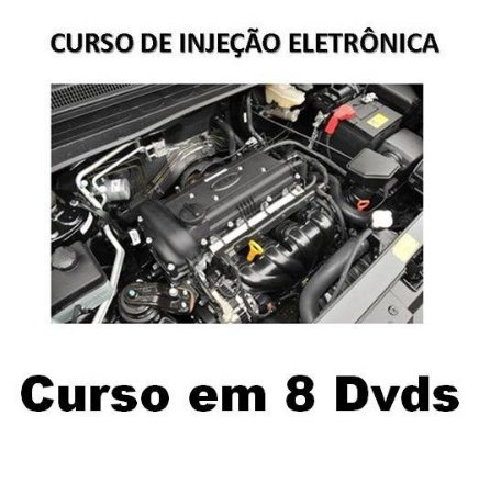 Curso Completo de Elétrica e Injeção Eletrônica Automotiva, Kit com 8 Dvds, Oferta Exclusiva com Frete Grátis.