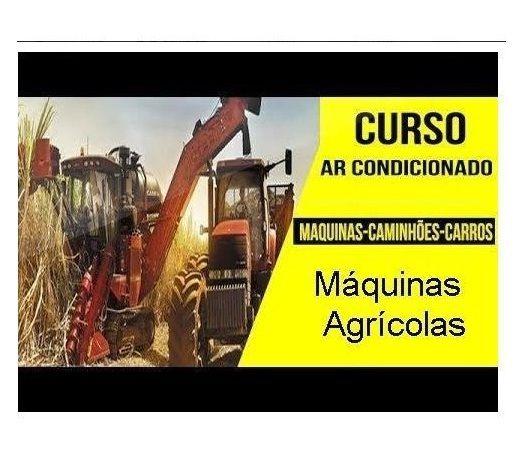 Curso Completo de Ar Condicionado de Máquinas Agrícolas, Oferta Exclusiva, Kit com 14 Dvds e Frete Grátis.
