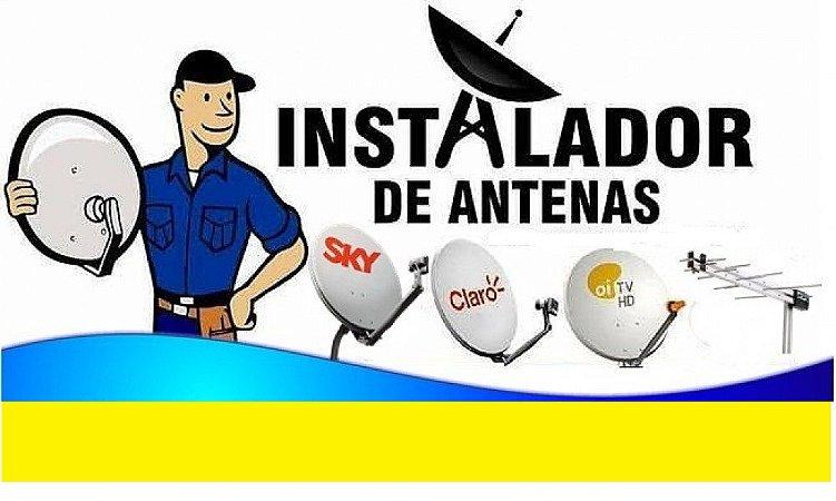 Curso Profissional de Instalador de Antenas Parabólicas, Bandas C E Ku, Exclusivo Kit com 6 Dvds e Frete Grátis.