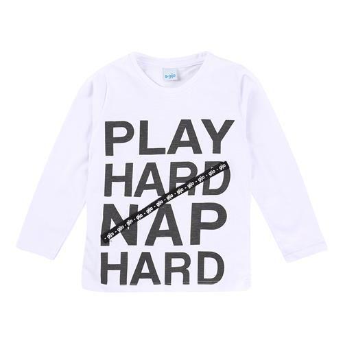 Camiseta Play Hard Gijo