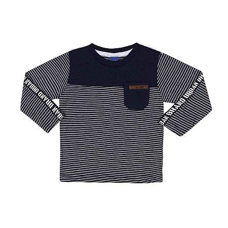 Camiseta Manga Longa Listrada TMX