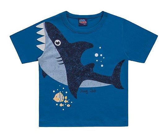 Camiseta Tubarão Kiko e Kika